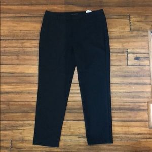 Zara Basic black polka dot pants
